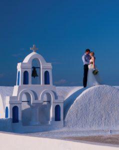 Fotografo matrimonio Roma Matrimonio a Santorini